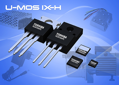 Toshiba's 40V/45V N-channel power MOSFET boasts leading-class on-resistance