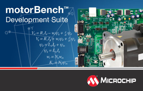 Microchip's advanced motor control tool has auto-tune and self-commissioning capability