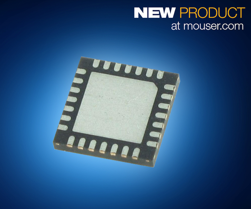 Maxim's single-chip MAX2769C universal GNSS receiver for GPS, satnav, and RF apps now at Mouser