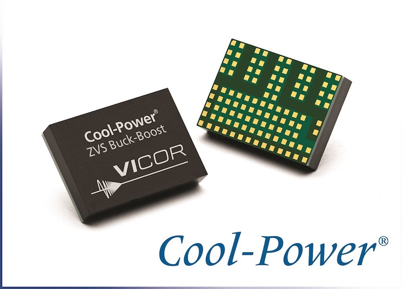 Vicor launches Cool-Power ZVS buck-boost regulator