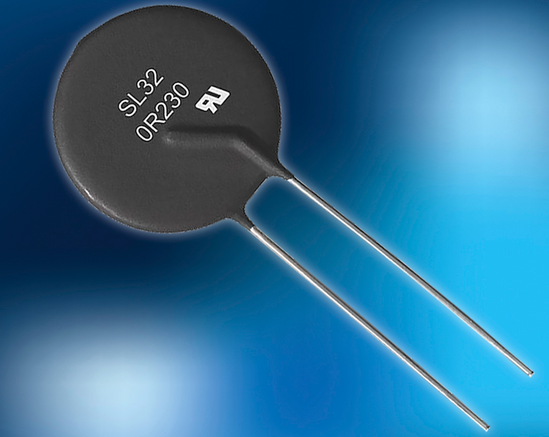 Ametherm's 30A circuit-protection thermistor touts resistance, current, and energy