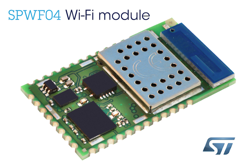 STMicro's Wi-Fi Module simplifies and secures IoT and M2M