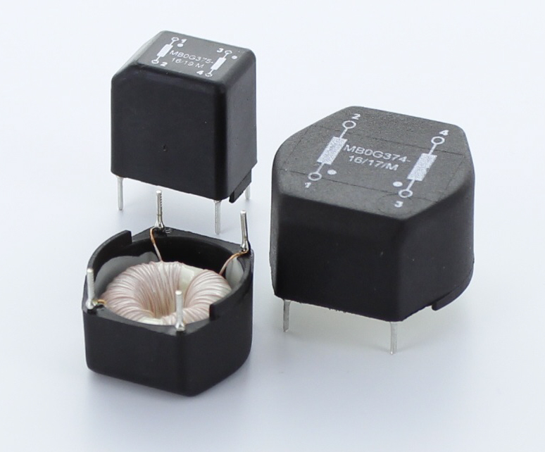 Exxelia to show TCM high-reliability common-mode inductors at APEC