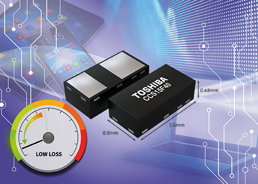 Toshiba introduces low reverse current Schottky barrier diodes