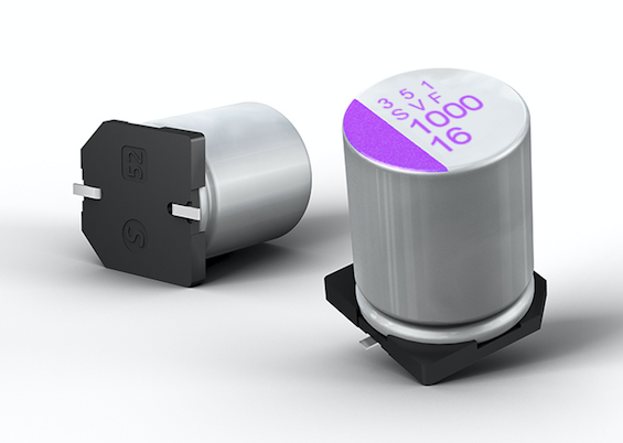 Panasonic extends OS-CON polymer-aluminium solid capacitor range