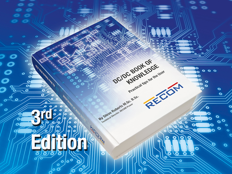 RECOM updates DC/DC book of knowledge