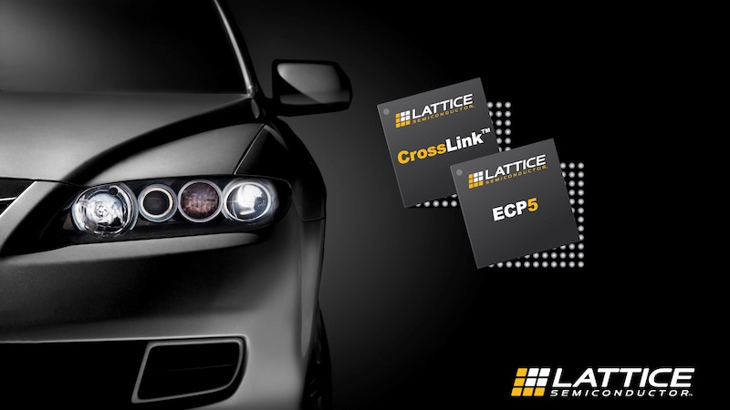 Lattice Semi launches ECP5 and CrossLink programmable devices for automotive