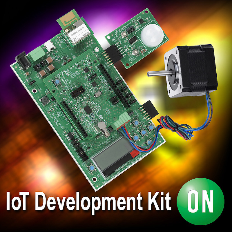 On Semi's new dev kits enable engineers to accelerate Cloud-based IoT