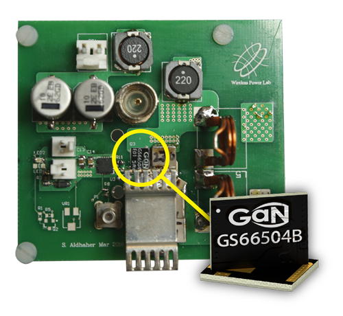 GaN Systems empowers wireless power transfer
