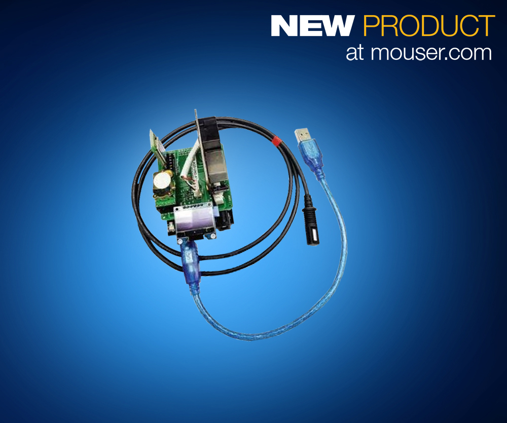 Mouser Offers Amphenol Advanced Sensors' Air Quality Eval Boards