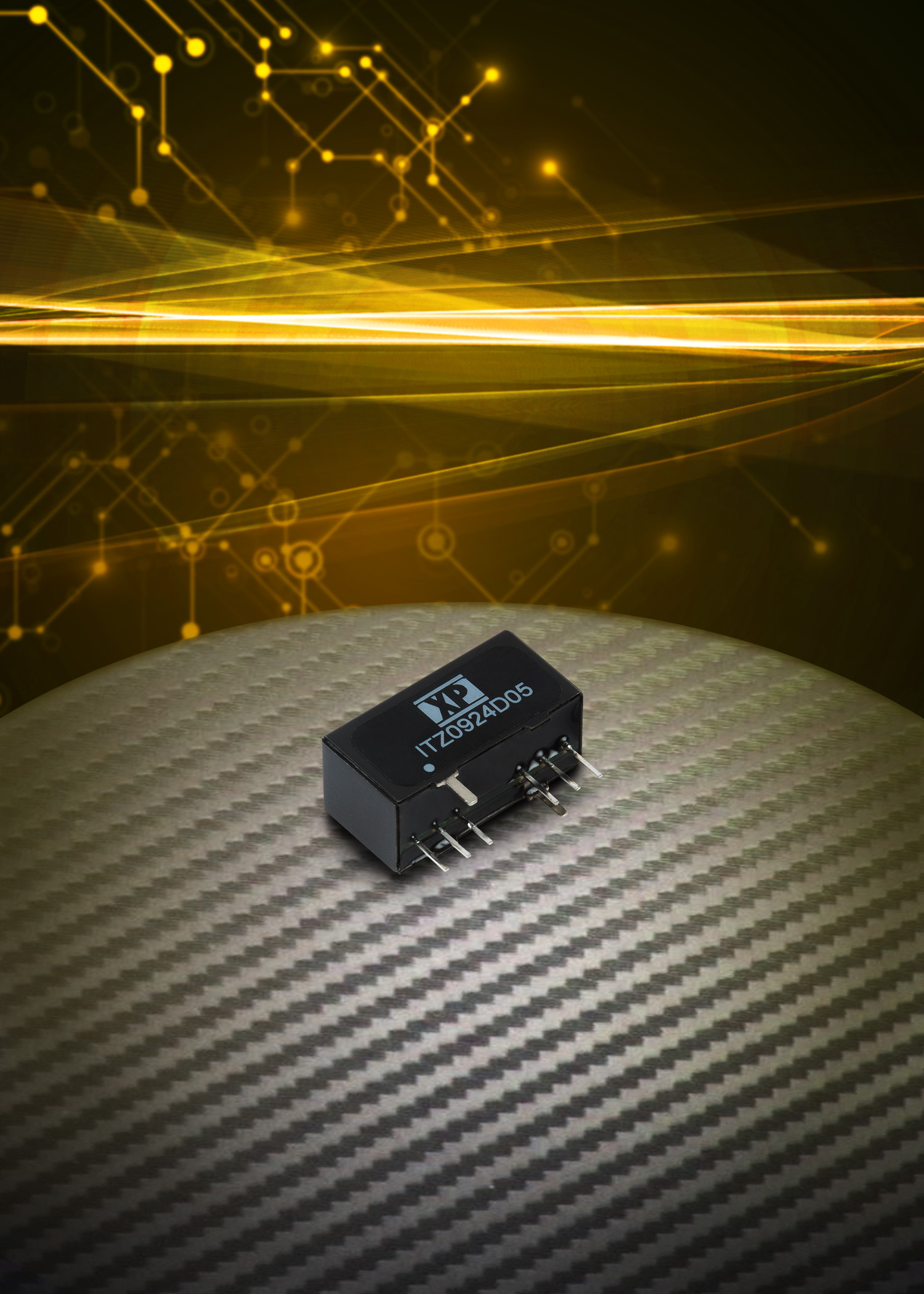 Industry's smallest regulated and isolated 9 W DC-DC converters offer 4:1 input range