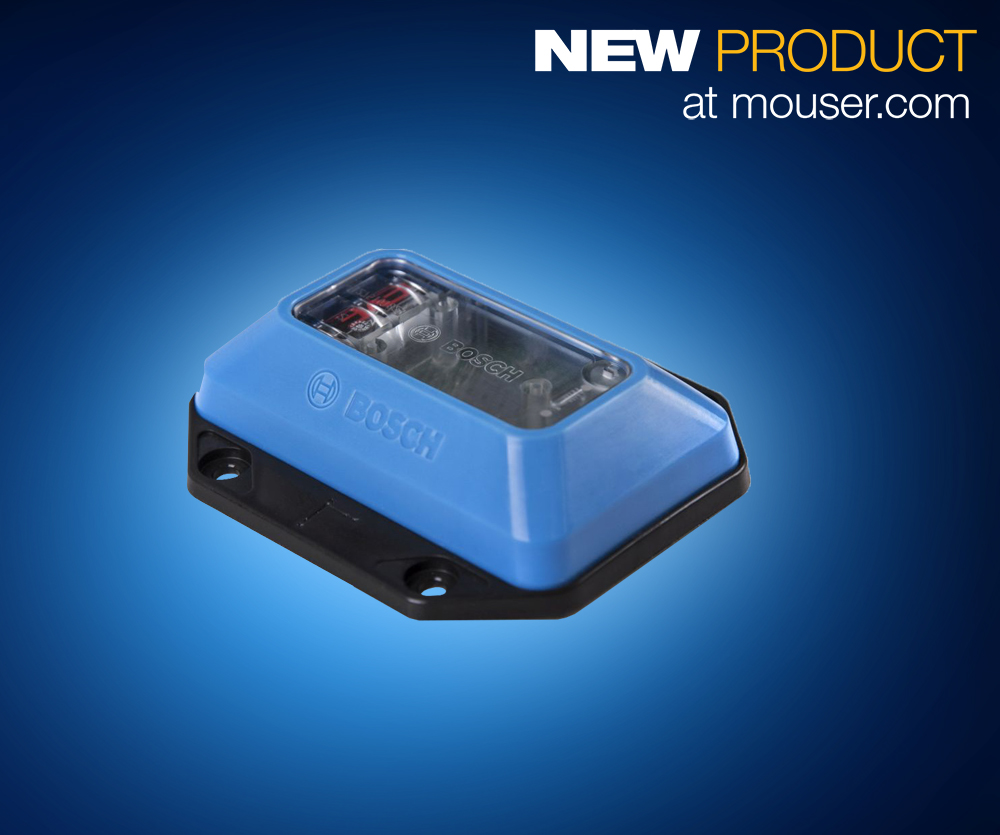 Enable Supply Chain Transparency with Bosch's TDL110 Transport Data Logger, Now at Mouser