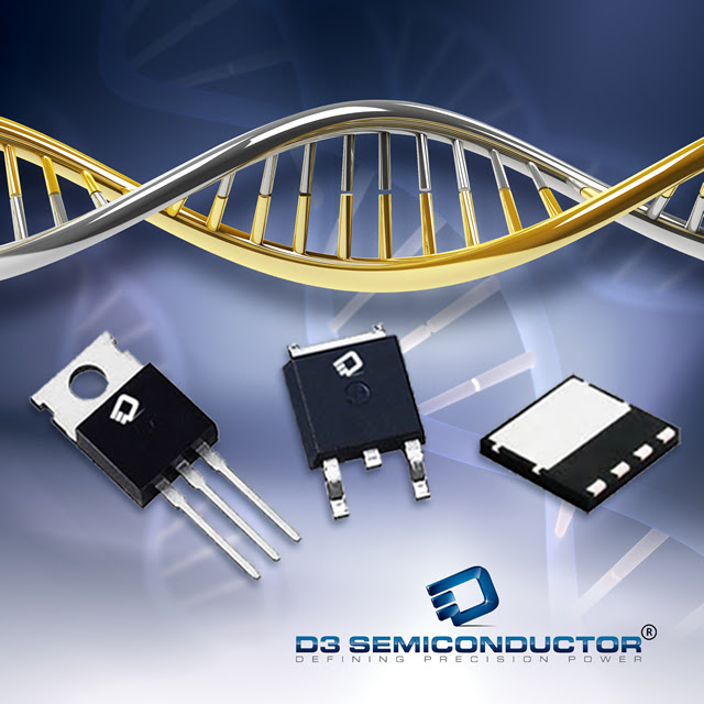 D3 Semiconductor Superjunction +FETs™ Push Performance Envelope