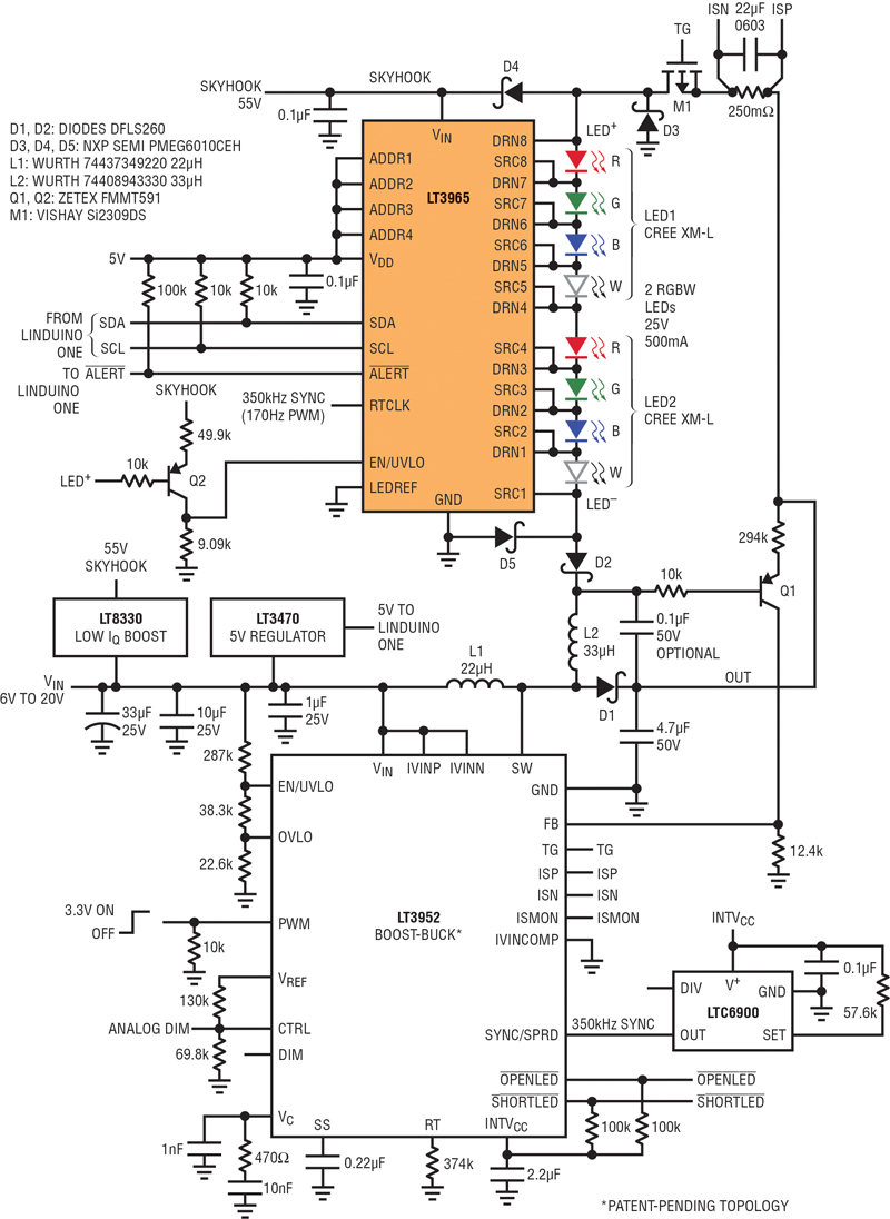 Using An Led Matrix Dimmer Circuit Including A Shunt Bandgap Regulator With Google Patents Click Image To Enlarge