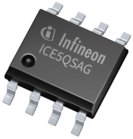 Quasi-resonant flyback controller and integrated power IC CoolSET™ family of 5th generation