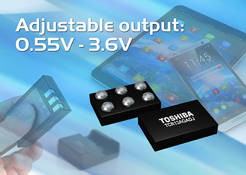 Toshiba Launches 1.3A LDO Regulator with Industry's Leading-class Small Package
