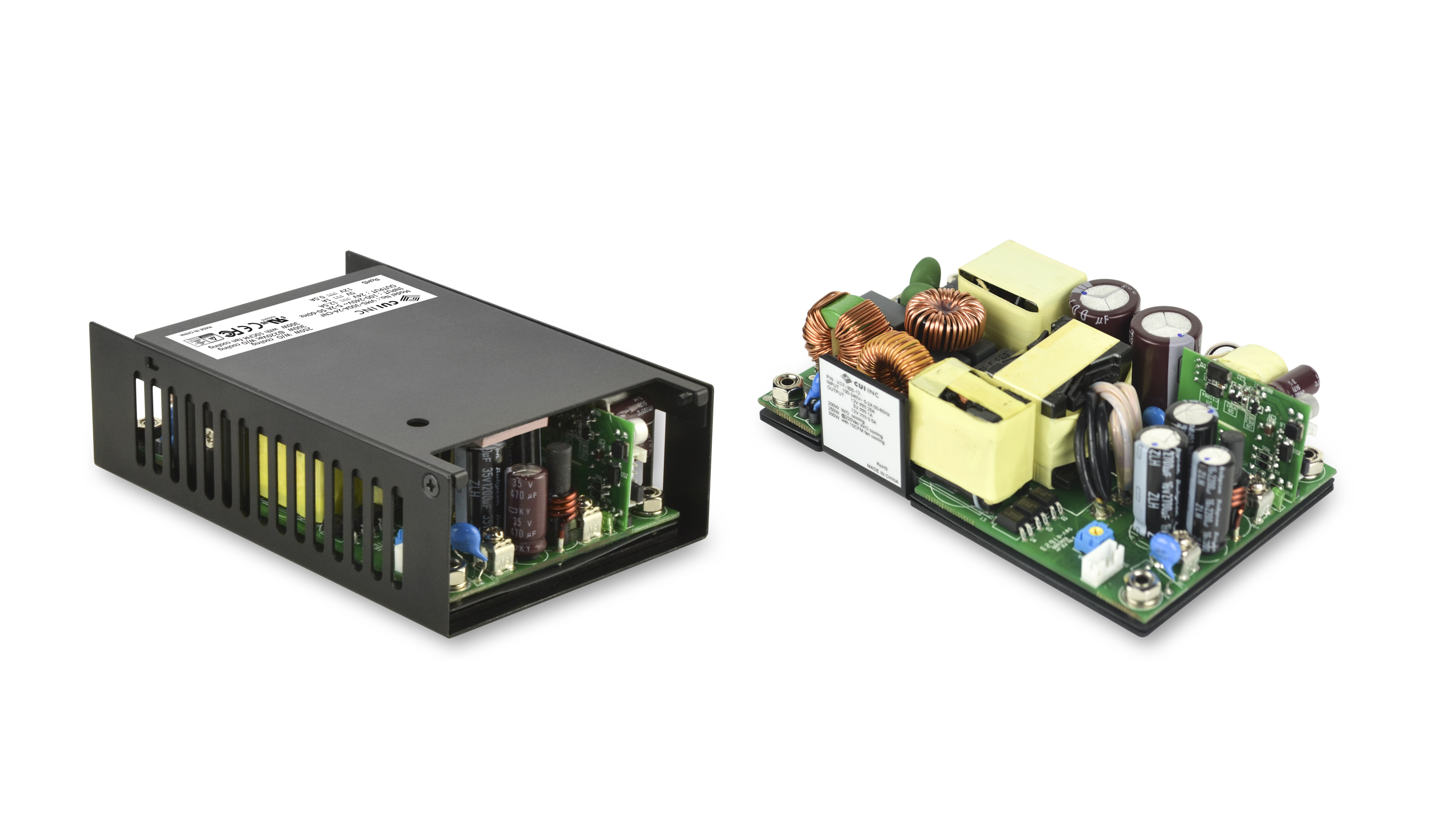 "300 W Ac-Dc Power Supply Series Offers High Efficiency in a 3"" x 5"" Package"