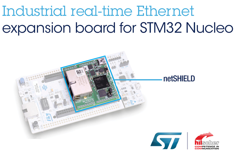 STMicroelectronics Works with Hilscher to Provide Scalable Multi-Protocol Industrial Ethernet Platform