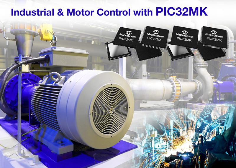 New PIC32 Family of 32-Bit Microcontrollers Optimized for Motor Control and General Purpose Applications