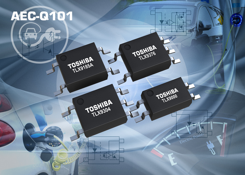 Toshiba Launches Photocouplers for Automotive Applications
