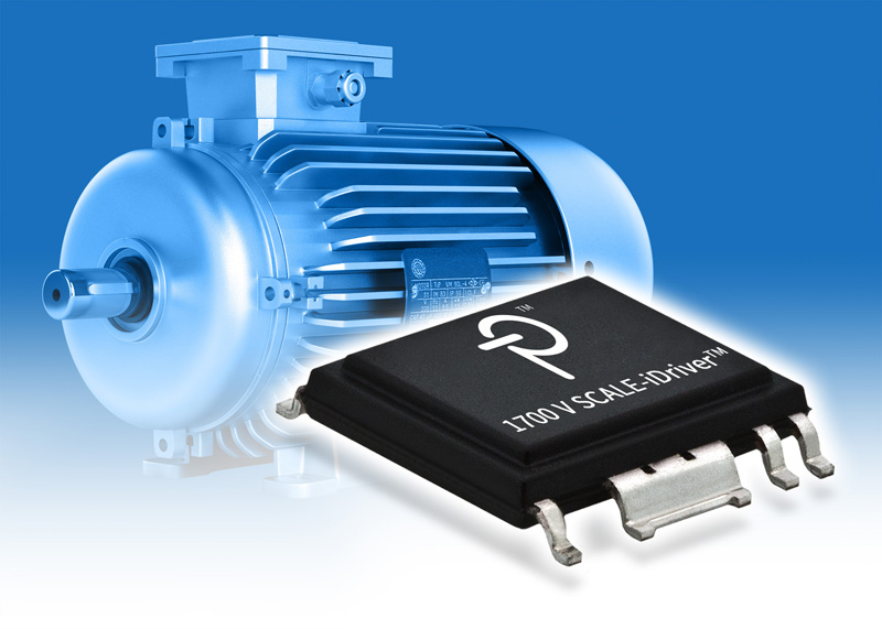 "Compact, Efficient SCALE-iDriverâ""¢ IC Family from Power Integrations Supports 1700 V IGBTs"