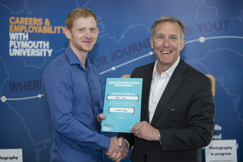 Plessey CEO mentors University of Plymouth student as part of Tamar Engineering Project
