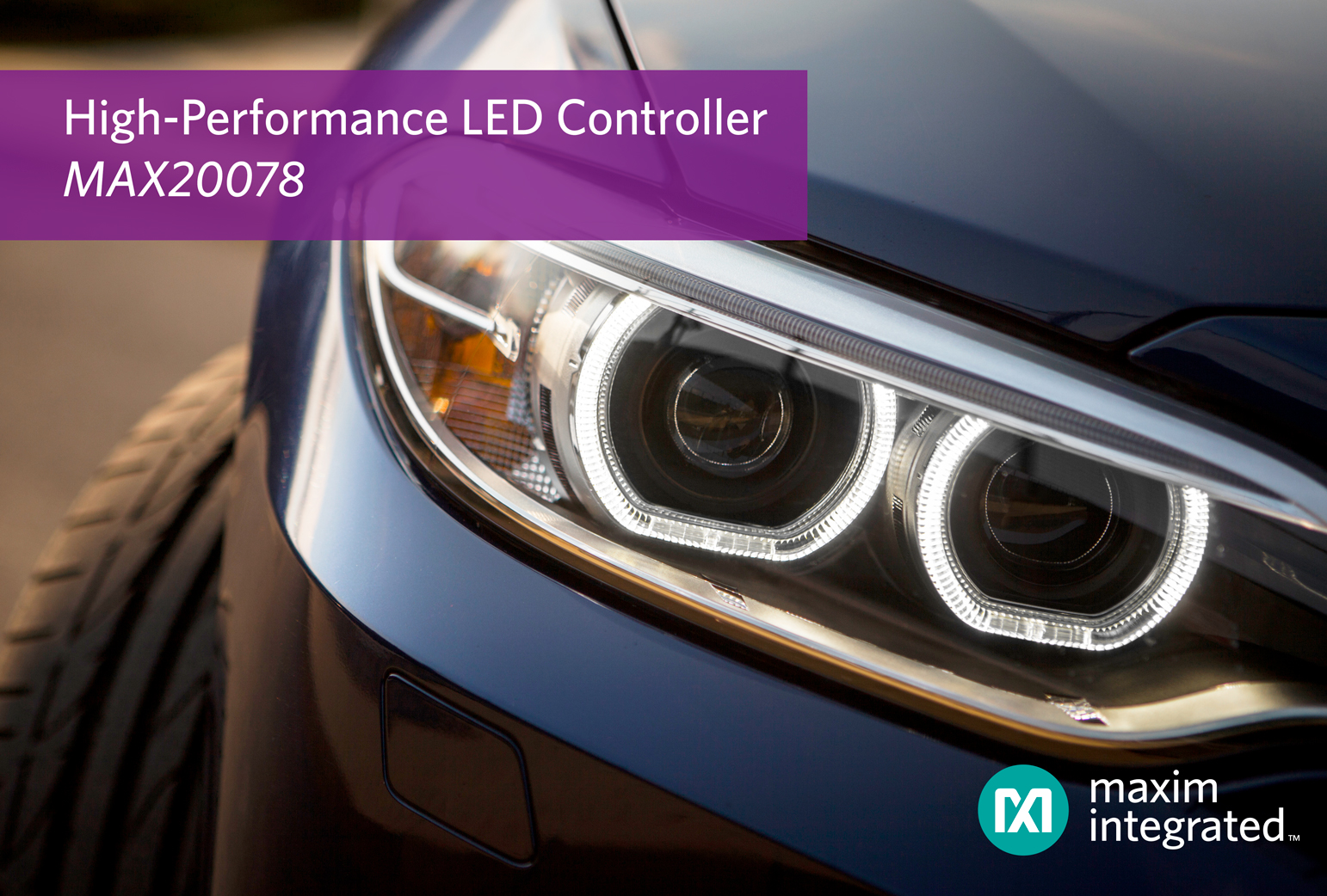 LED Controller Eliminates Trade-Off Between Fast Response Time and Low EMI for Exterior Lighting