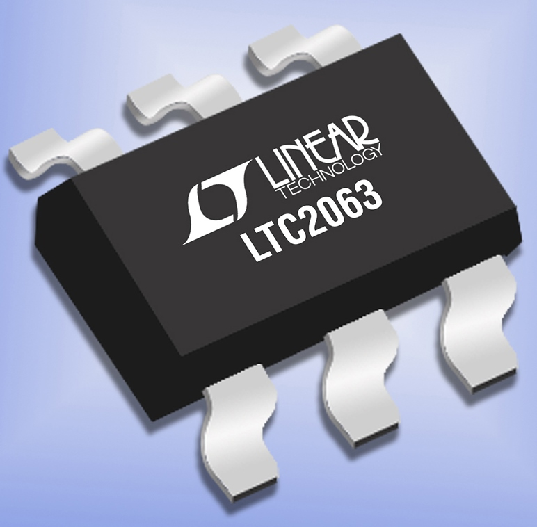 Industry's Lowest Power Zero-Drift Op Amp Consumes only 1.3�A