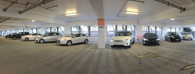 Santa Clara event parking includes electric vehicle charging stations
