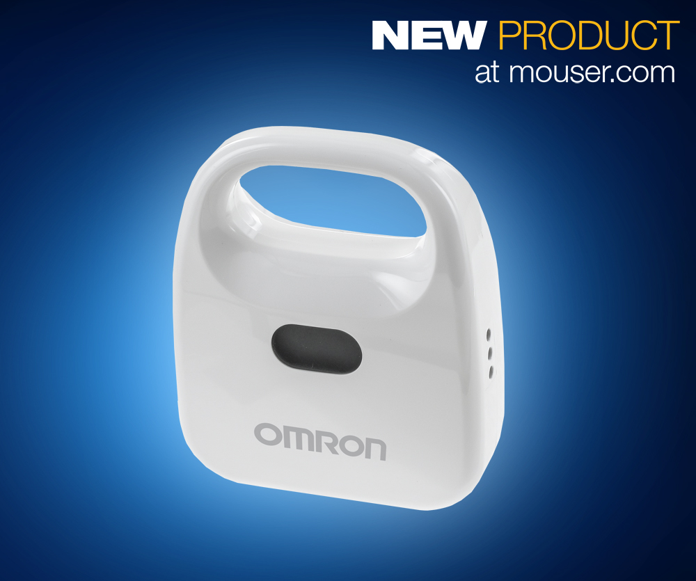 OMRON's Wireless 2JCIE-BL01 Sends Environmental Sensor Data Directly to Smartphones