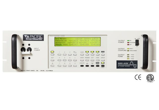 Switching AC Power Sources Covers a Range from 1.5kVA to 12kVA