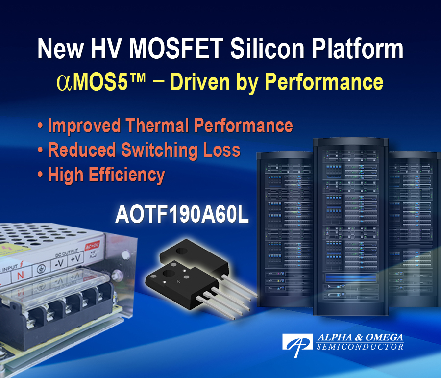 MOSFET Platform Engineered for Superior Switching and EMI Performance