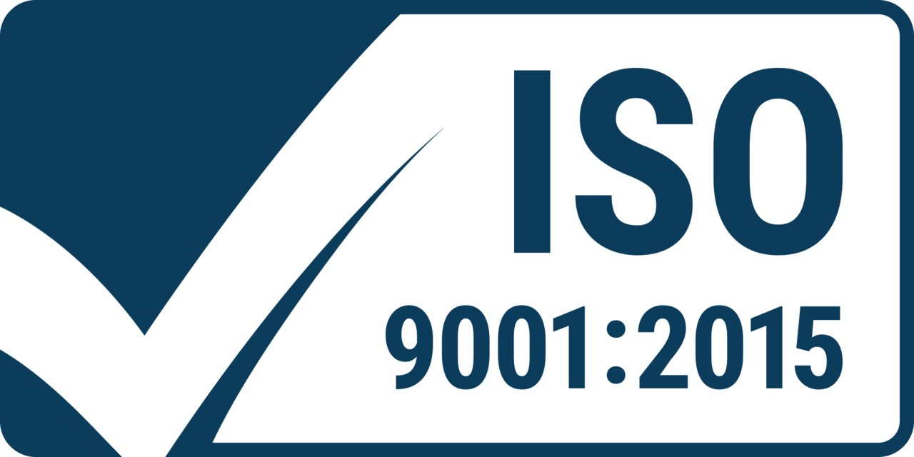 Dean Technology Certified to ISO 9001:2015