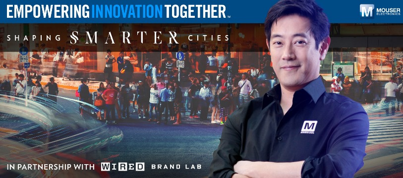 Mouser Electronics and Grant Imahara Discover Innovative Traffic Solutions in Latest Shaping Smarter Cities Series