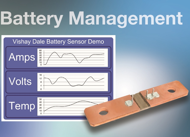 Battery Shunt Resistor Improves Accuracy, Provides Consistent Contact Location