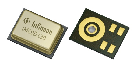 Packaged MEMS Microphones Feature a 70 dB Signal-to-Noise Ratio