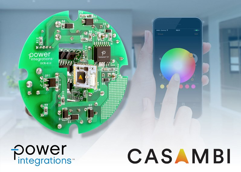 12 W LED Downlight Reference Design Features Sophisticated Dimming and Color Management