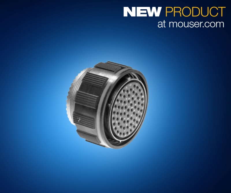 Mouser Now Stocking Amphenol ZnNi Circular Mil-Spec Metal Connectors