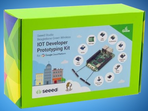 Seeed's BeagleBone Green Wireless IoT Developer Prototyping Kit Now Shipping from Mouser