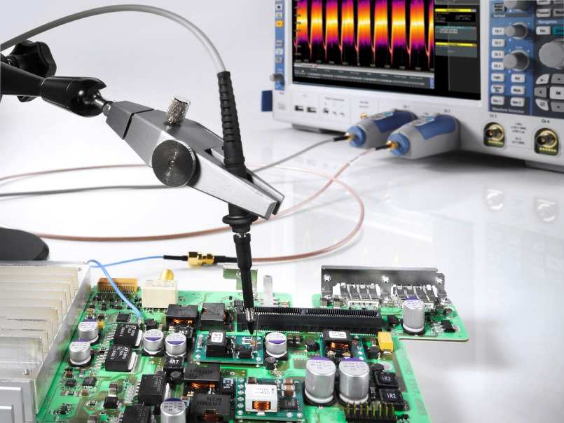 Figure 1. Power rail voltages and tolerances required by ICs continue to decrease.  These dynamics challenge traditional oscilloscope measurement approaches as the noise of the scope and probe system impairs the ability to make accurate measurements of small signals.