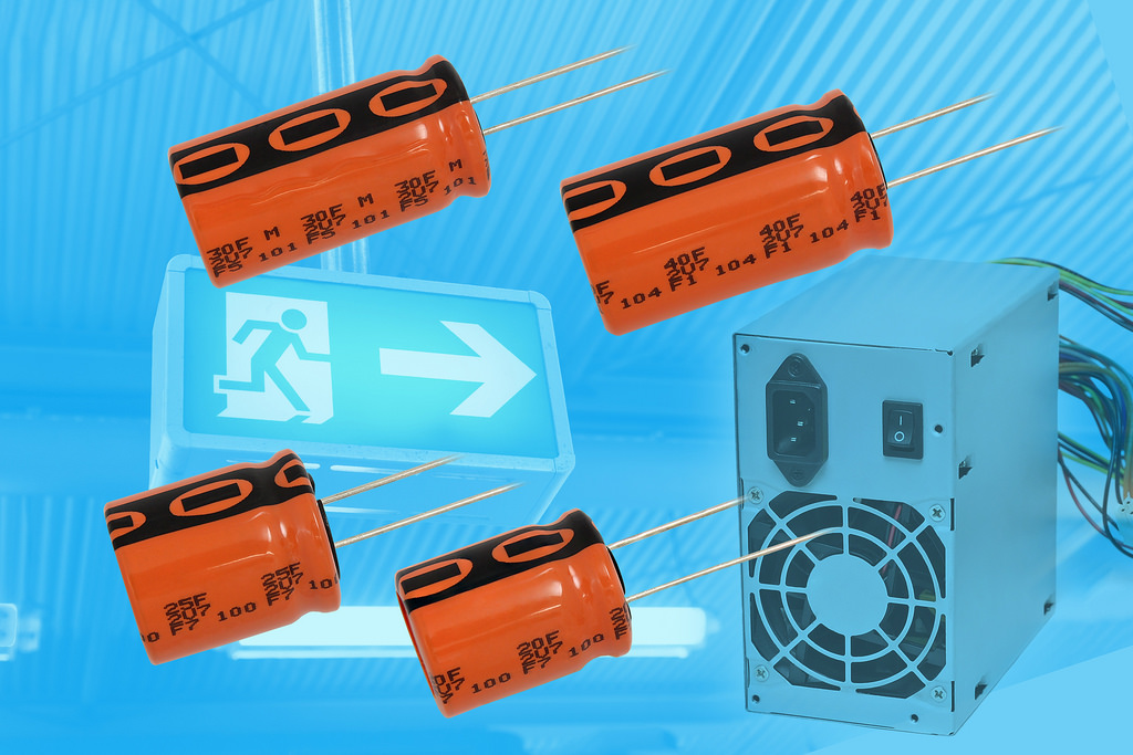 Double-Layer Energy Storage Capacitors Offer Extended Capacitance Values in Additional Case Sizes