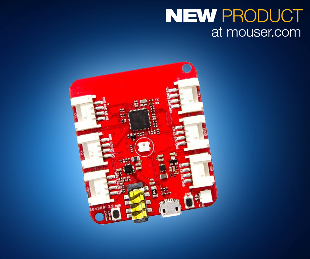 Arduino-Compatible Development Board Integrates Bluetooth 3.0 and GPRS Into a Single Board