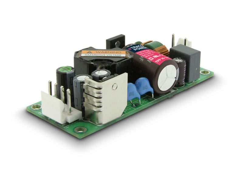 Compact 15 and 30 Watt Open-Frame Power Supplies Designed for Medical Applications