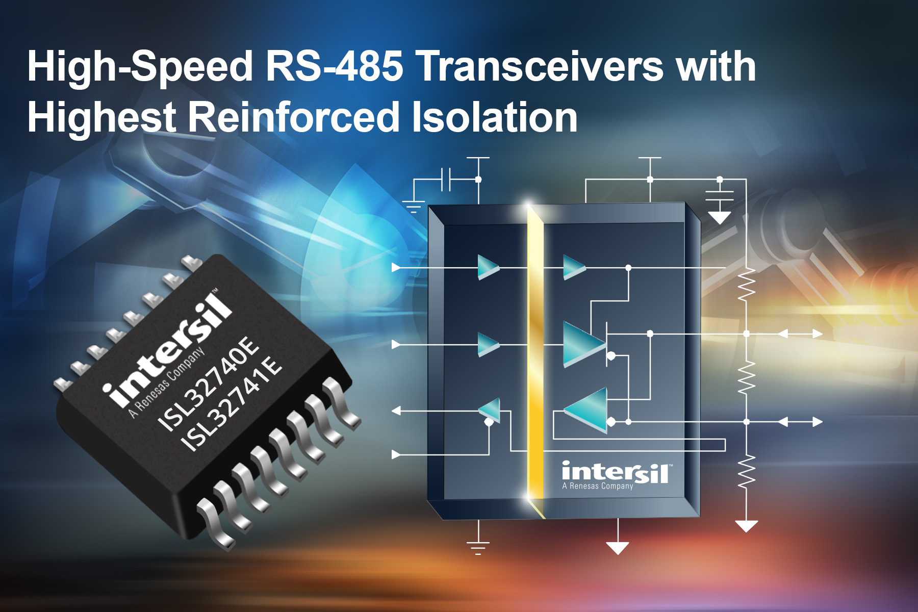 High-Speed Transceivers Deliver Industry's Highest Working Voltage