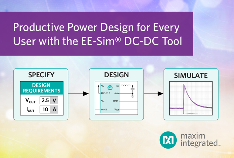 DC-DC Converter Design and Simulation Tool Empowers Designers of any Expertise Level