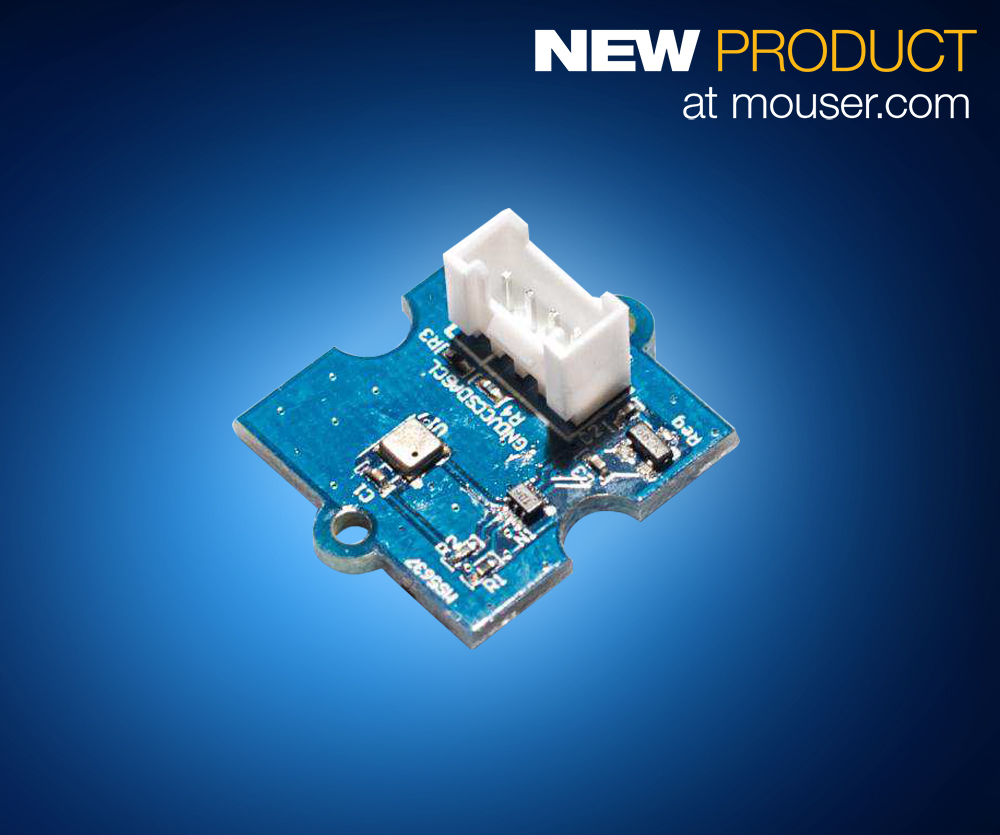 Plug-and-Play Development Boards Allow Users to Quickly Prototype Temperature, RH, and Pressure Designs