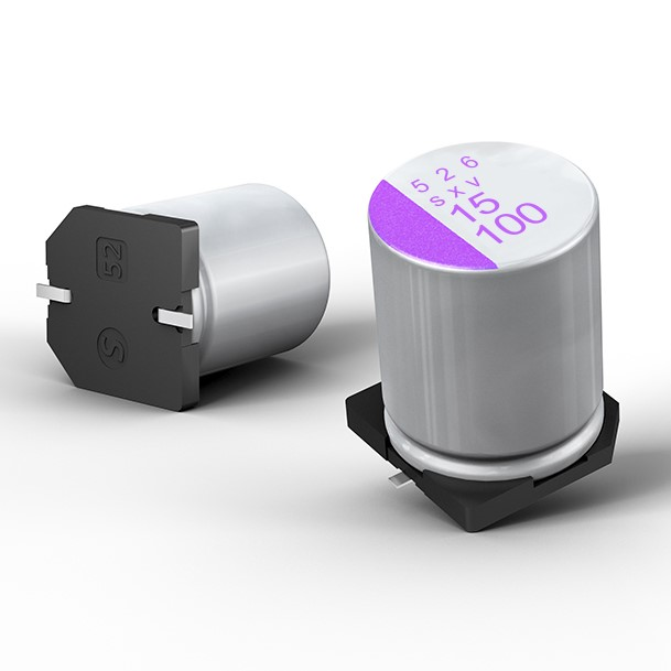 Conductive Polymer Aluminium Solid Capacitors Feature Large Capacitance And Low ESR at Very High Voltage