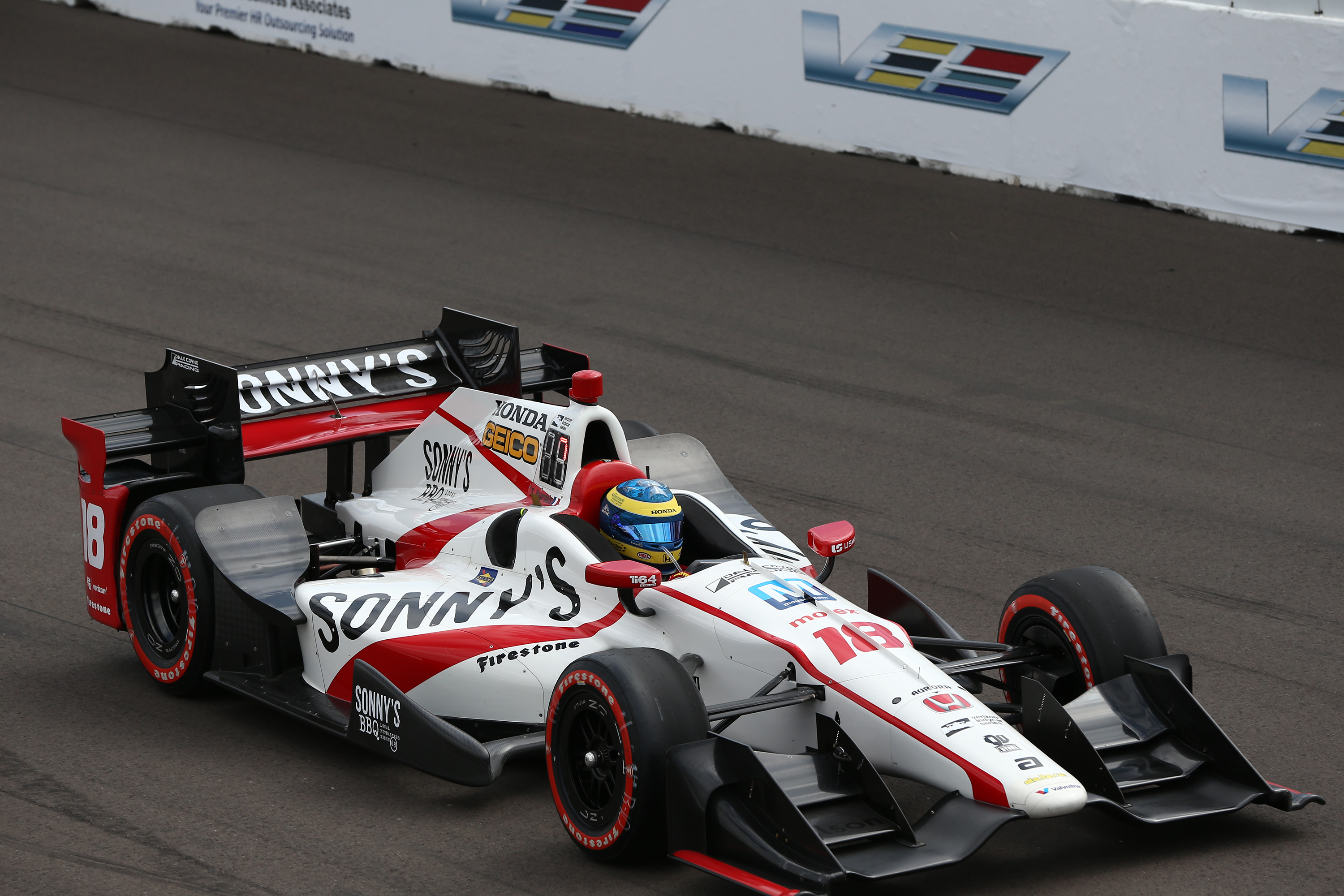 Bourdais Returns to Mouser/Molex-Sponsored IndyCar, Looks to Finish Season Strong at Sonoma
