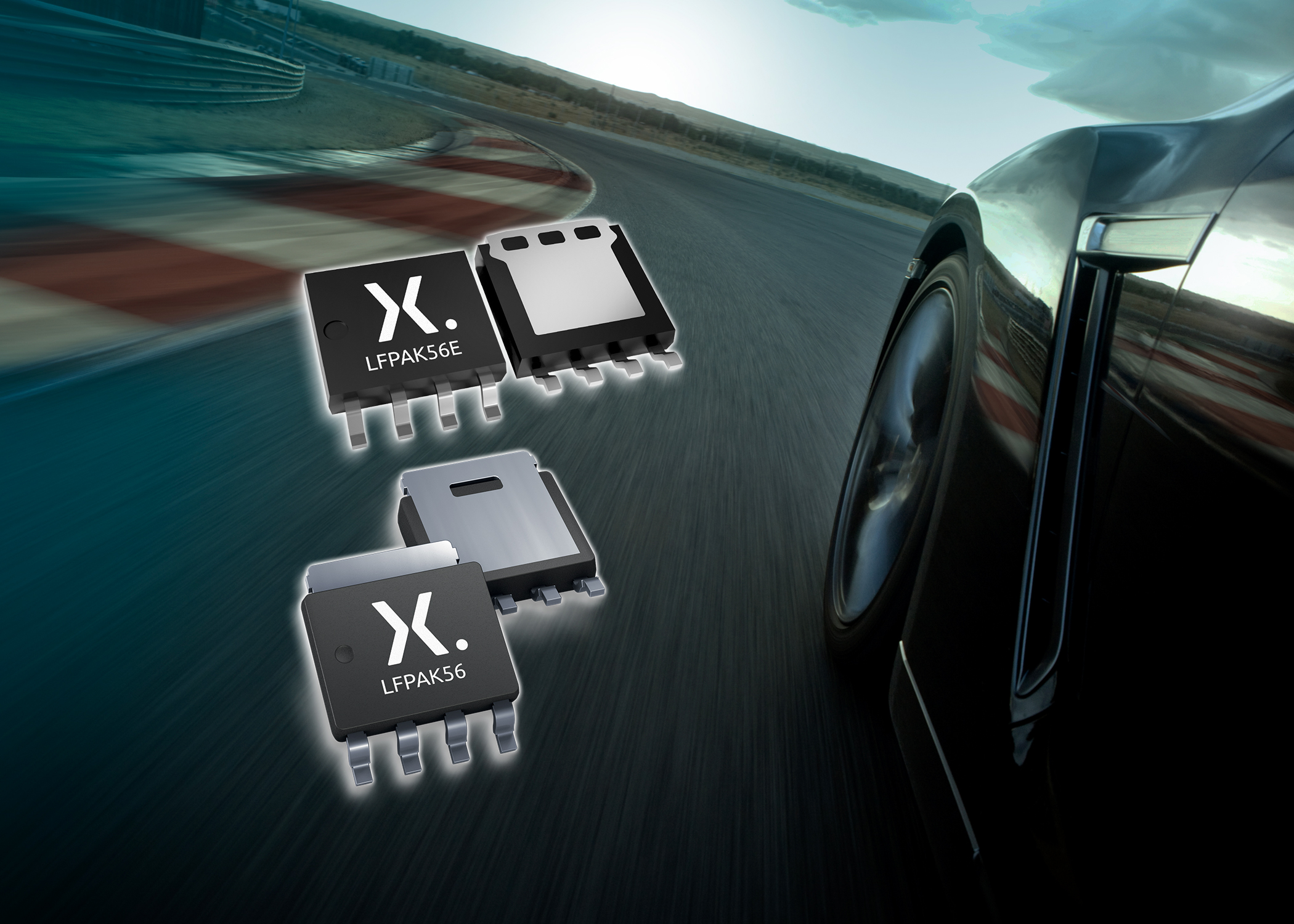 AEC-Q101 Trench 9 MOSFETs Save Space, Deliver High Performance, and Ruggedness