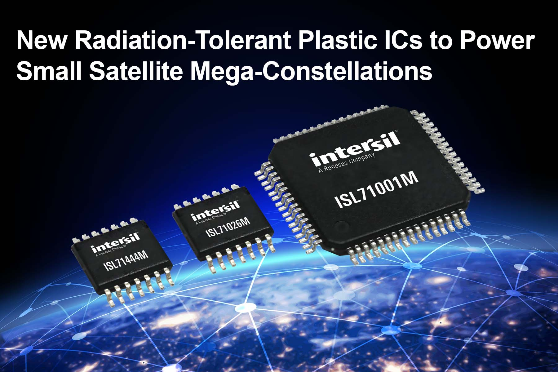 Radiation-Tolerant Plastic ICs Power Small Satellite Mega-Constellations